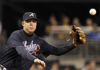 Friday's game could possibly be Chipper Jones' last.
