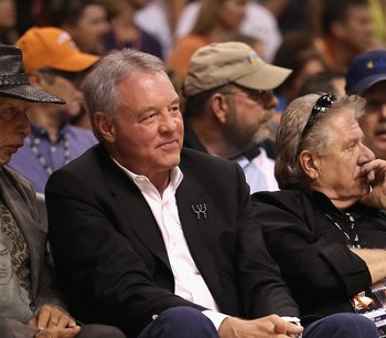 Peter Holt serves as the primary owner of the San Antonio Spurs.