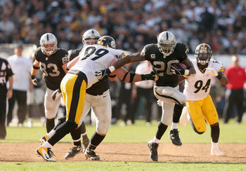 The Raiders McFadden helped fuel a fourth-quarter comeback.