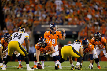 Manning picked apart the Steelers in Week 1.