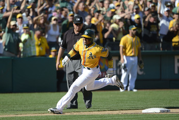 Cespedes was just part of a large influx of long-ball power for the A's