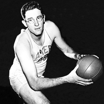 George Mikan was the league's first star