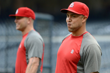 Matt Holliday and Carlos Beltran give the Cardinals a powerful duo.