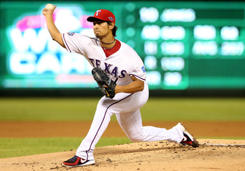 Yu Darvish made the transition to MLB look easy leading the Rangers in strikeouts.