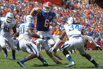 Saturday will be the biggest test of Jeff Driskel's young career.