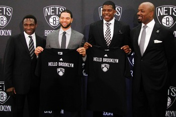 Brooklyn's tandem of Deron Williams and Joe Johnson may be the best backcourt in the NBA.