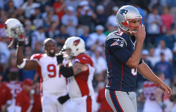 Gostkowski's missed field goal only confirmed Arizona's talent, not New England's demise