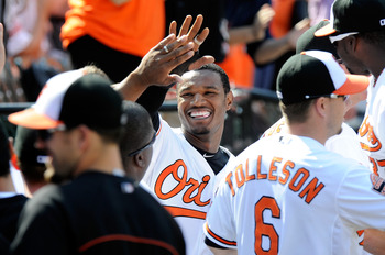 The Orioles have been smiling a lot this year after pulling out a lot of close games.