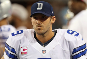 This face is more frequently seen, as Tony Romo is not the answer at Quarterback