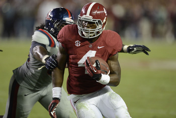 Yeldon has accounted for 386 yards of total offense through 5 games.