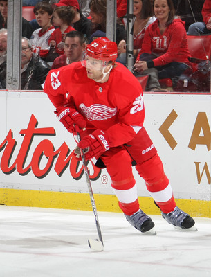 Red Wings defenseman Brad Stuart will no longer be found in a Wings sweater.