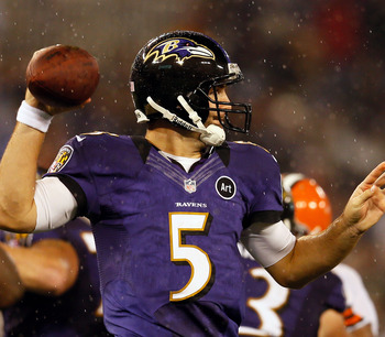 Joe Flacco Coming on