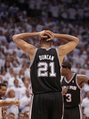 Tim Duncan re-signed for three more seasons.