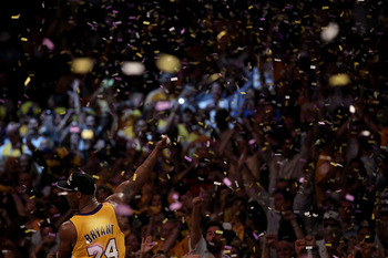 Kobe Bryant should greet a familiar site come next June