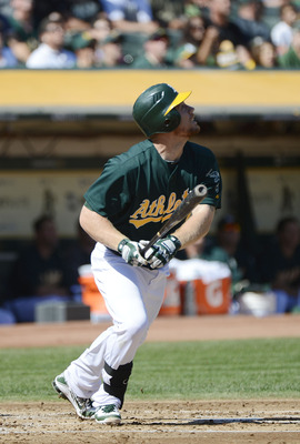 Brandon Moss supplied plenty of power for the A's wth 21 HR in just 84 games.