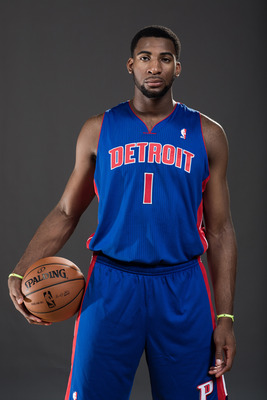 Rookie center Andre Drummond has incredible natural skills but is among the most raw players in the NBA.