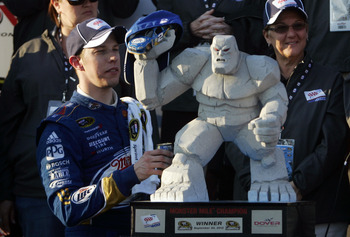 Brad Keselowski has become a monster at winning and intimidation.