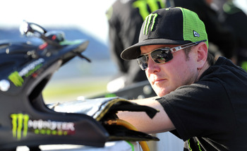 Kurt Busch used to be a monster on the race track -- and could become one once again.