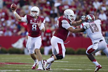 Arkansas looks to rebound from a big loss to Texas A&M last week.
