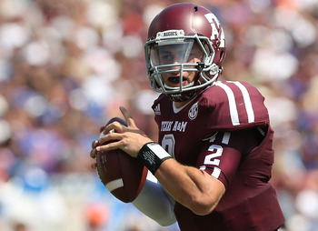 Johnny Manziel is yet to throw a pick. He's a big part of A&M's success.
