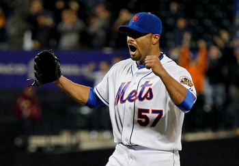 Santana's no-hitter was one of the Mets' seven complete games.