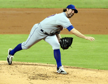 R.A. Dickey was the Mets' best pitcher all season long.