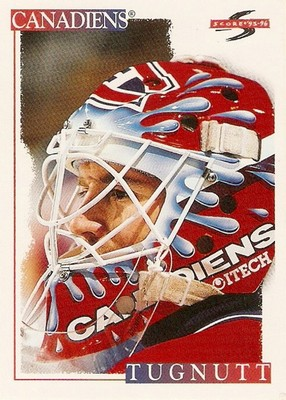 Score hockey card of Ron Tugnutt. Source: Card Boarded at http://cardboarded.blogspot.ca/2011_01_01_archive.html