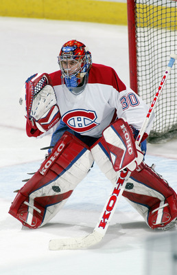 Mathieu Garon, formerly of the Montreal Canadiens.
