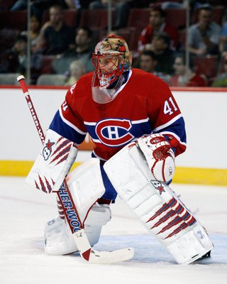 Jaroslav Halak, formerly of the Montreal Canadiens.