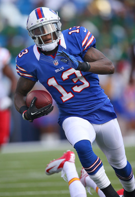 Look for Stevie Johnson to run plenty of slant routes against the 49ers.