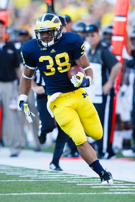 Michigan sophomore Thomas Rawls.