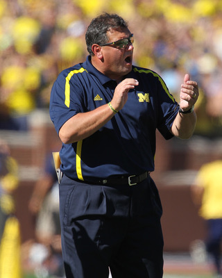 Michigan coach Brady Hoke