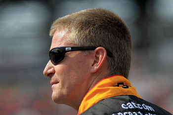 Jeff Burton came into Talladega with the championship in sight. But a bad finish hurt him.