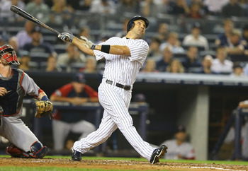The Yankees had a powerful offense that hits A LOT of home runs. They also have a deep bench, led by Raul Ibanez