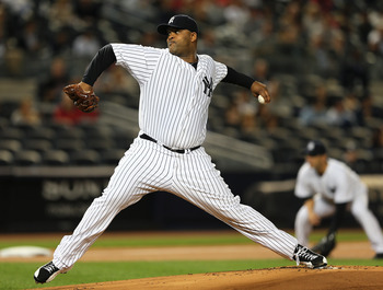 CC Sabathia anchors the Yankee rotation, who look stronger than ever with him and Andy Pettitte back