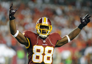Pierre Garcon has talent, but battles consistency issues.