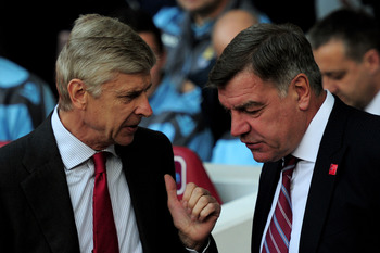 Arsene Wenger has already praised Allardyce's work with West Ham.