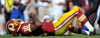 Keeping RGIII on his feet is critical