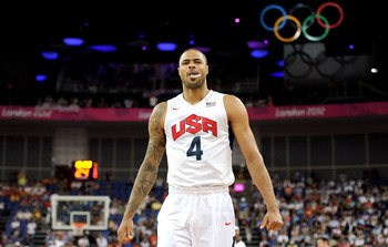 Tyson Chandler keyed Team USA's gold medal finish.
