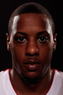 Mario Chalmers gets lost in the shuffle behind his superstar teammates.