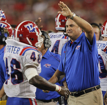 The Louisiana Tech Bulldogs have made their way into the Top 25.