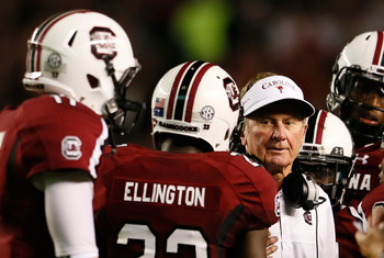 Steve Spurrier has South Carolina fans dreaming of a national title this season.