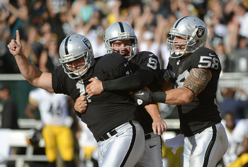 Once again, the kicking game has been Oakland's bright spot