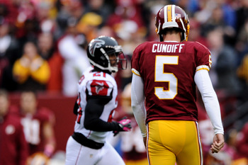 Billy Cundiff is a weak link in a Redskins team that has to take every chance it gets.
