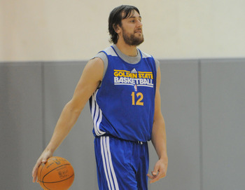 Golden State Warriors' Andrew Bogut