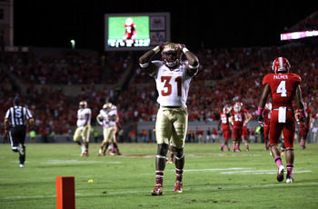 E.J. Manuel stands in disbelief as FSU loses 17-16.