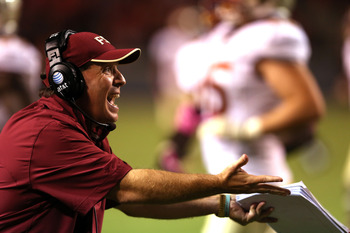 Jimbo Fisher needed crunch-time gumption on Saturday.