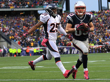 Wes Welker got himself open.