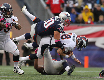 Rob Ninkovich was getting pressure all afternoon.