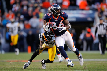 Daniel Fells struggled during his reunion with the Broncos.